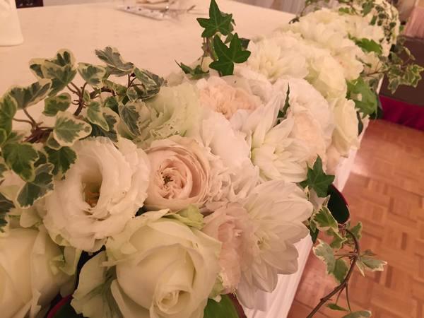 国際ホテル宇部 ブライダル装花サムネイル